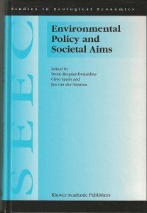 1999 DRD Spash JvdS Env Policy bk cover