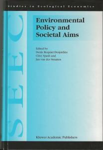 1999 DRD Spash JvdS Env Policy bk cover
