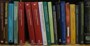 Book shelf Clive Spash