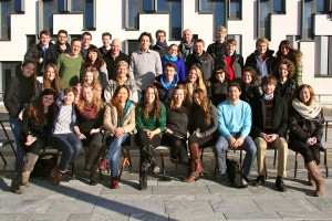 My students in the Social Ecological Economics and Policy (SEEP) Masters programme, WU, Vienna, December 2013
